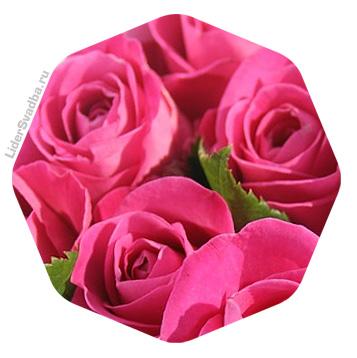 Годовщина 17 лет - Розовая свадьба