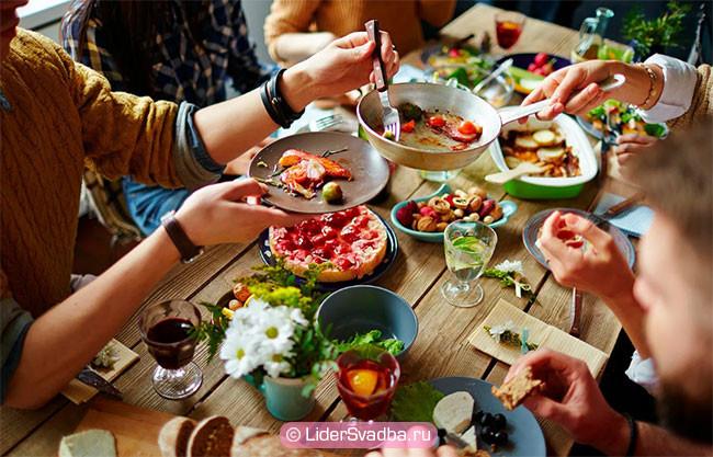 вы можете устроить праздник с семьей или друзьями