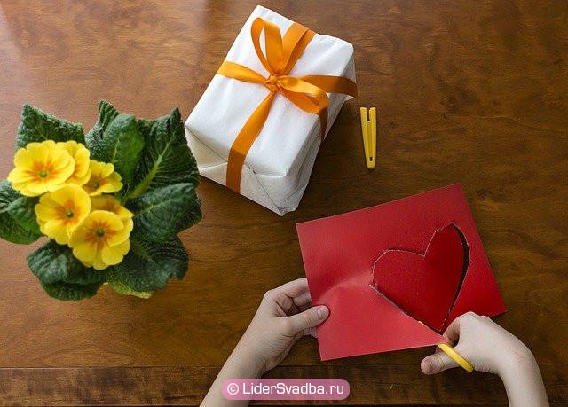 Внуки могут подарить подарок ручной работы